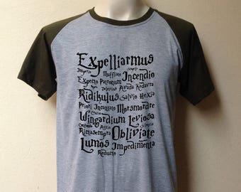 Magic spell harry potter letter tshirt