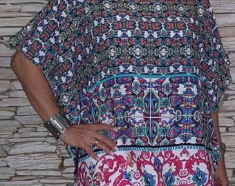 Women's Cotton Tunic Blouse