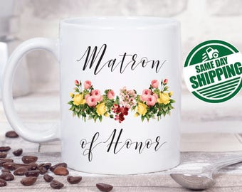matron of honor gift, matron of honor mug, matron of honor, matron of honor, matron of honor proposal, matron of honor gifts, matron gifts