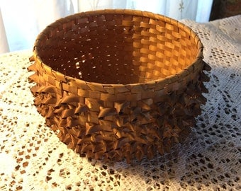 Delicate Handmade Basket