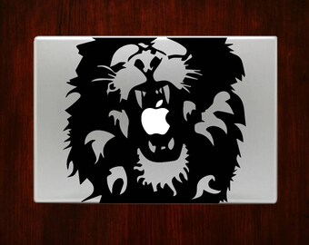 Lion Beast Macbook Decal Stickers Mac Pro / Air / Retina Sizes 13 / 15 / 17 Laptop Cover