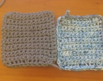 Crochet Coaster 4-pack