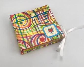 Colorful Square Origami Book