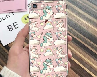 UNICORN case,iPhone 7 case,iPhone 7 Plus,iPhone 6,unicorn,iPhone SE,iPhone 5s,iPhone 8 Plus,iPhone 6 Plus case,clear iPhone X case iPhone 8