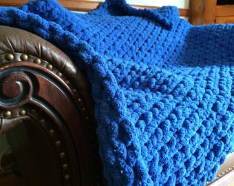 Handmade Chunky Throw Blanket
