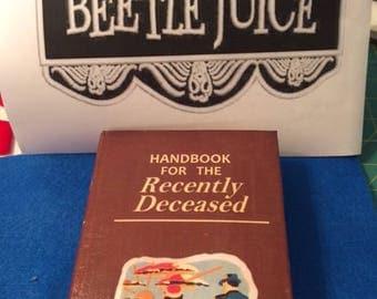 Handbook for the Recently Deceased w/hidden compartment