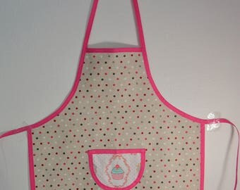 Kids Apron, Kitchen Apron, School Apron, Girl Birthday Present