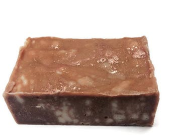 THE GOURMET - Handmade natural soap handmade cold saponification caramelized chocolate without palm oil