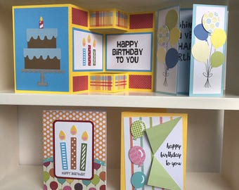 Birthday Card Pack of Four