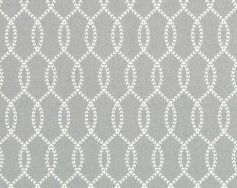 Island Trendil grey white rope fabric
