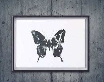 Float like a butterfly A4 print
