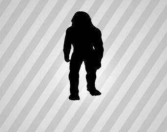 Bigfoot Silhouette Etsy