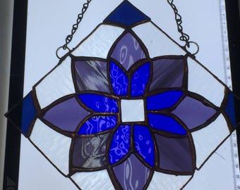 Blue/Purple Geometric