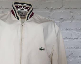 1970's White Izod Lacoste Mod Jacket