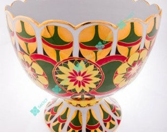 SACICT Five Color Punch Bowl