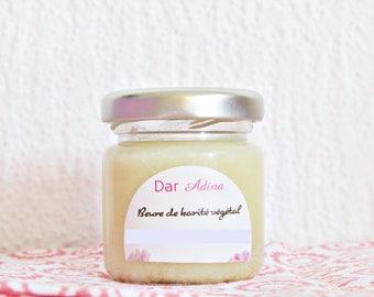 Raw organic Shea butter and organic karibio