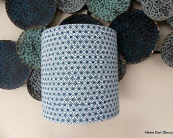 Turquoise Wall Sconce PM graphic fabric