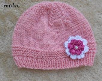 rose bonnet Baby girl