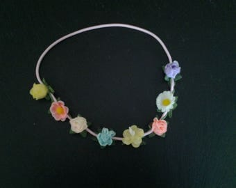 Head-band for girl and teen ceremony