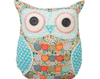 Pillow, owl, owl, 37 cm, CLARA OWL CUSHION