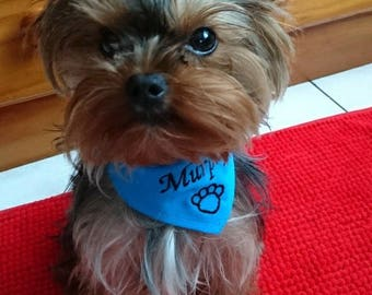 Bandana to customize for your dog XXS-XS-S - M