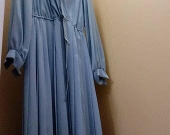 1970s Shirtwaist Dress