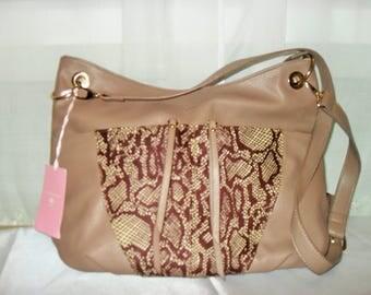 Bag leather and wax (Ankara)
