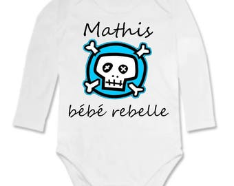 Rebel Bodysuit personalized with name