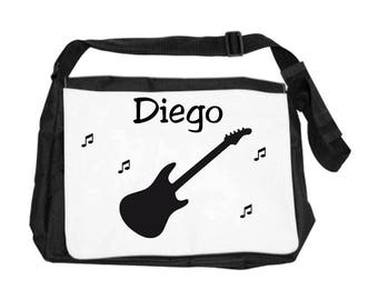 Guitar bag personalized with name