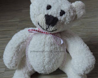 Plush White bear