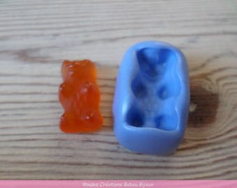 Sweet mini Teddy bear mold