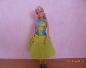 Blue green dress for Barbie ref: 12425445