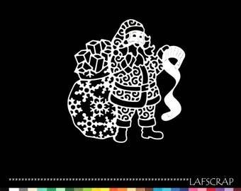 2 cut Santa boots bag toy albul die cut scrapbooking decoration embellishment scrapbooking