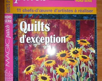 french magazine, MAGIC PATCH - n. hors série - quilting -  11 quilts  to do