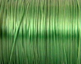 5 m green elastic 0.8 mm thick
