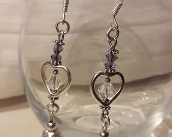 A heart to love these pretty earrings!