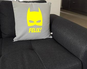 Personalized Batman pillow cover