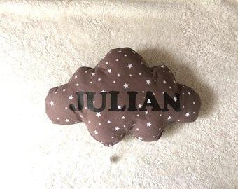 Cloud musical baby pillow