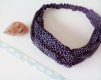 Cotton with elastic headband