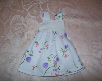 doll dress 32 / 33cm: for cherished dolls (printed with flowers)