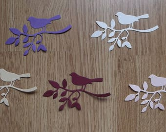 5 cuts branch birds for your scrapbooking creations, no. 47 A lot.