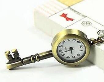 Very nice watch key pendant 55 x 25 mm