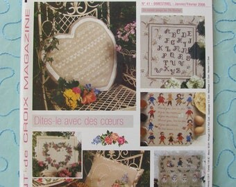 "Embroidery ""Magazine cross stitch"" magazine issue 41 - January / February 2006."