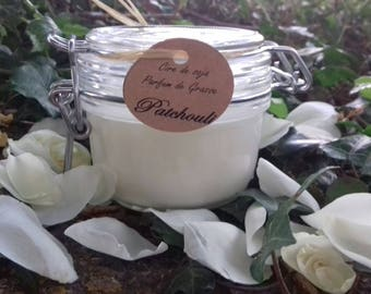 Patchouli soy wax candle plant