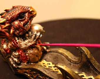 Baby Dragon Incense Holder, Dragon Stick Incense Holder