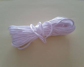 White cord for necklace