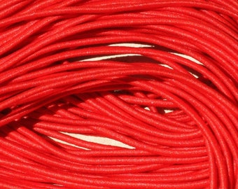 Skein 19 m - 5 wires 3.80 m elastic fabric 1 mm red 4558550019882