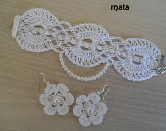 set crochet jewelry