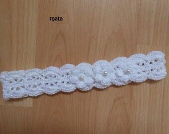 white headband for baby