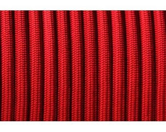 Paracord 550 type III length 1 m imperial Red